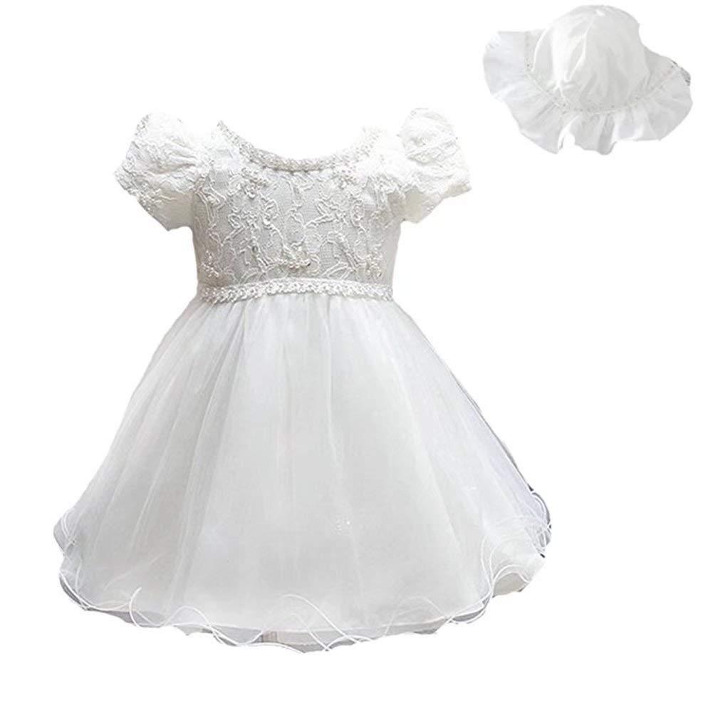 647c7b209ac Get Quotations · ZAH Baby Girl Dress Christening Baptism Gowns Formal Dress