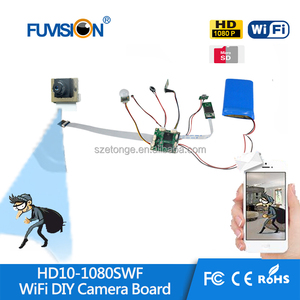 Hidden Spy Camera Wifi Cmos Module lens with sd card Full HD 1080P Recorder Video Cam for IOS,Android