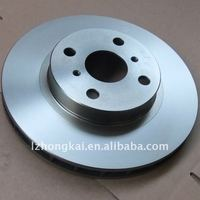 best quality TOYOTA auto black brake rotor factory