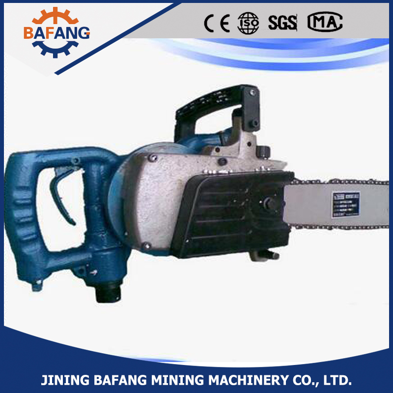 High quality FLJ-400 mine pneumatic chain saw/wood chain saw for sale