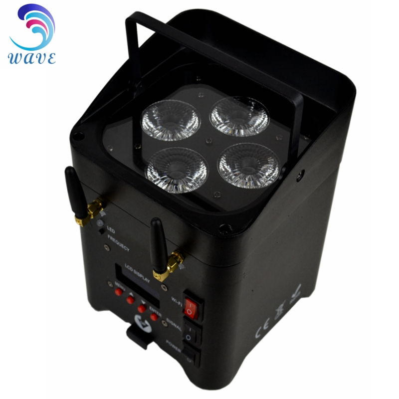 RGBWA UV 6in1 WIFI battery powered uplight wireless dmx