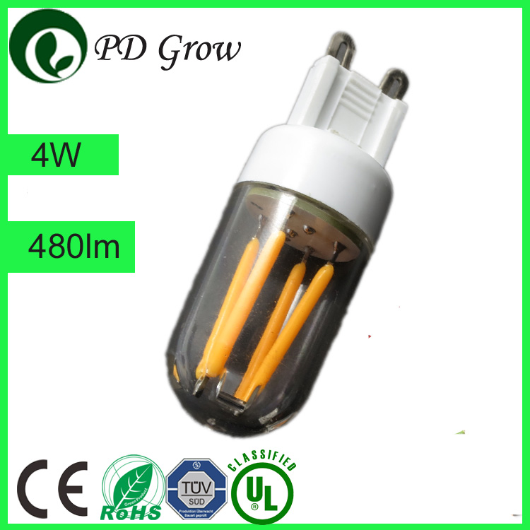 2700 3000 4000 6500 Kelvins 7W E27 A60 A55 700 Lumen LED Filament light with ce rohs