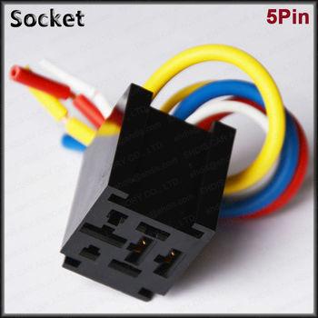 5 Pin Relay Socket Control Relay Sockets Automotive Relay Buy 5