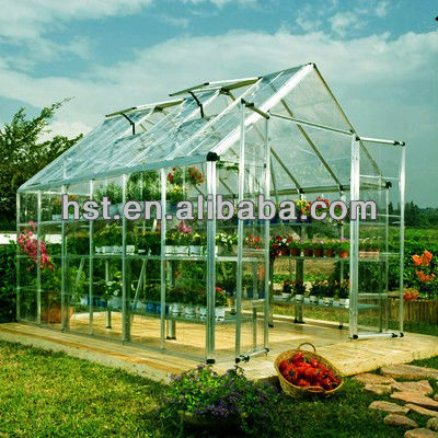 2014 modern design 100% virgin Polycarbonate Sheet for greenhouses for agriculture