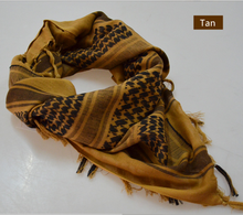 "Tactical Desert Shemagh Arab Keffiyeh Neck Scarf 43"" x 43"" 7 colors Available"