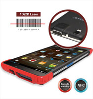 tablet pc barcode scanner 7'' support Android 4.2 OS with 3G/WIFI/NFC function,UHF module,1D/2D barcode optional
