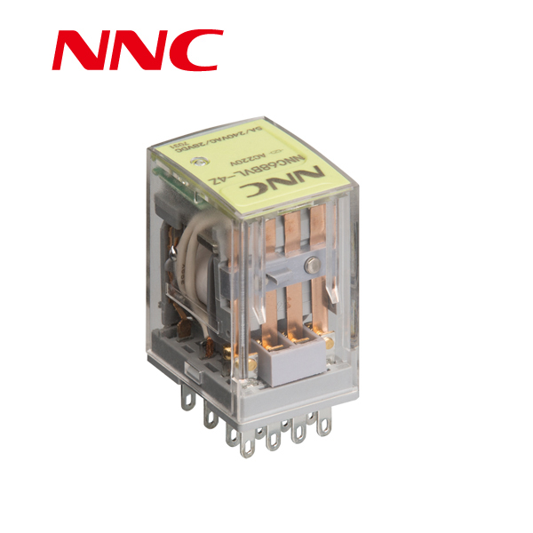 Nnc68bvl-4z General Purpose Electromagnetic Omron 24vdc Relay My4n on