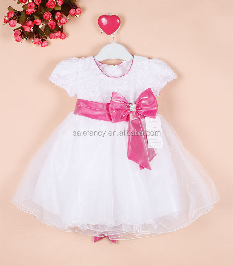One Year Baby Party Dresses Flower Girl Dress Qgd-2076 - Buy One ...