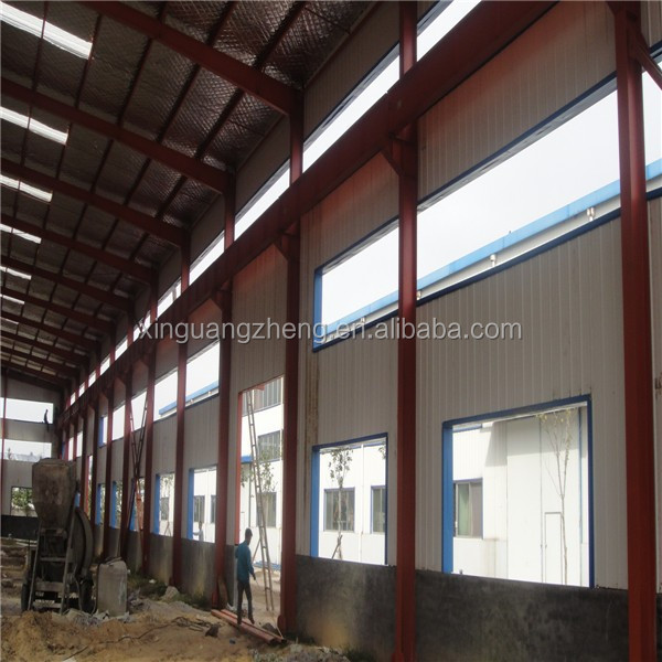 prefab engineering low cost metal warehouse
