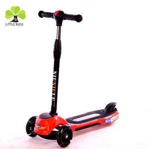 Hot sale cheap price high quality aluminum frame music kids scooter 3 wheel with light