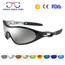 Wholesale hot selling polycarbonate kids sports sunglasses