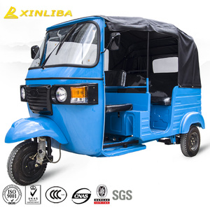 New design 200cc gasoline passenger tricycle