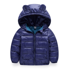 YY10122B Custom outdoor colorful packable foldable kids boys and girls winter ultra light puffer children down jacket