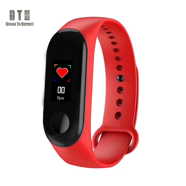 Hot Promotion smart bracelet m3 Smart band Bluetooth 4.0 IP67 Waterproof M3 Smart Bracelet/Wrist with Heart Rate