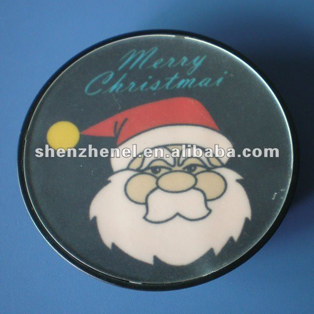 Father Christmas EL badges