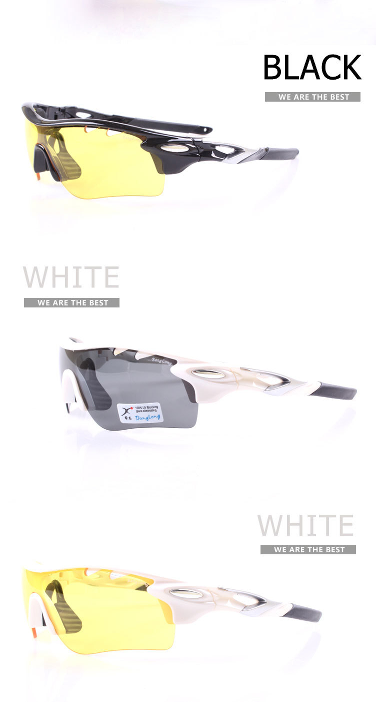 polycarbonate sports glasses with over 10 OEM/ODM years experience