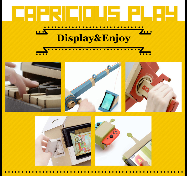 HOT Product! Labo Toy  DIY GUITAR Kit labo for Nintendo Switch