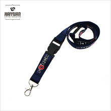 Customised neck strap lanyard with break away buckle