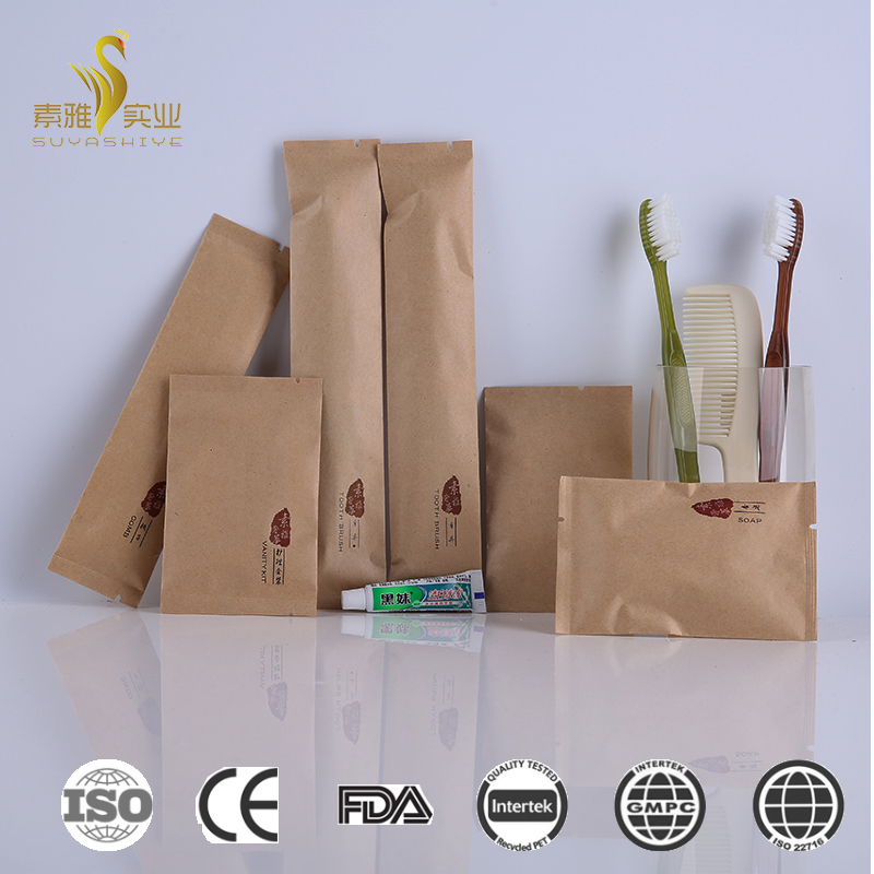 Hot sale disposable restaurant and hotel supplies hospitality hotel supplies