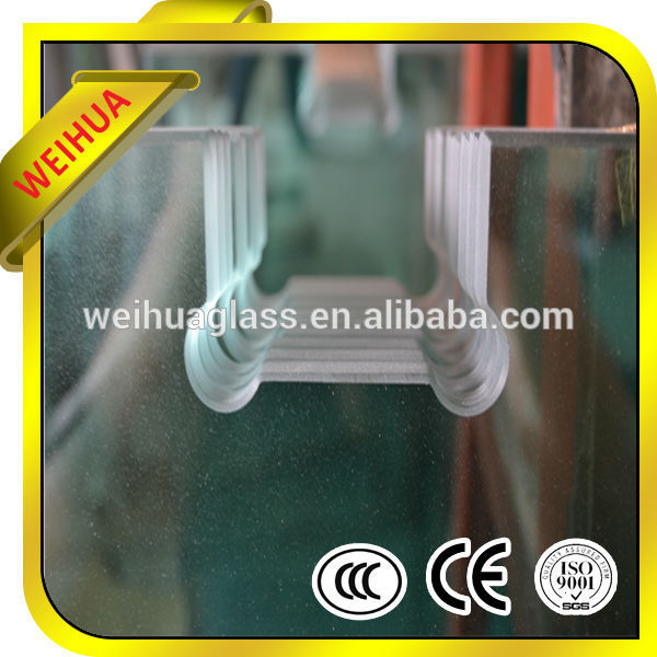 10mm Thick Clear bathroom glass For Building With CE Certificate