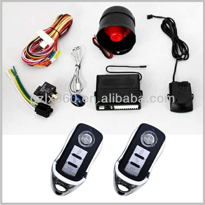 car security devices and keyless entry / alarm system in car