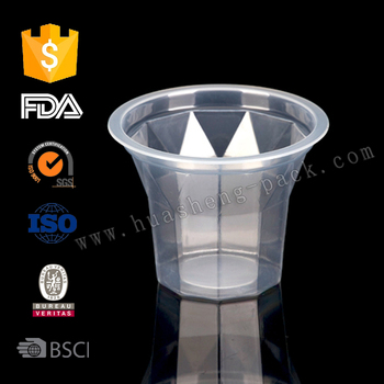 EVOH high barrier Plastic cup,plastic pudding cup