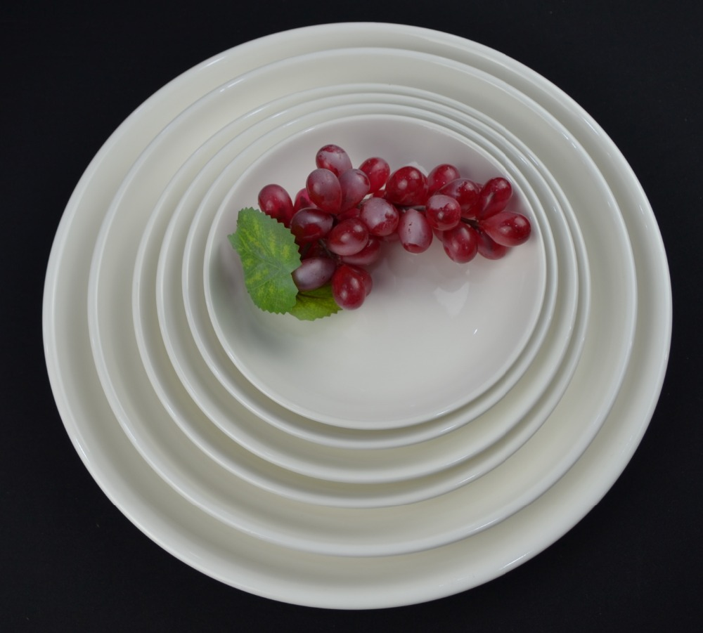 Made in china good quality ceramic fruit <strong>plate</strong> in various size