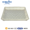 Plastic crate for bottles, durable small wine crates, industrial storage crates