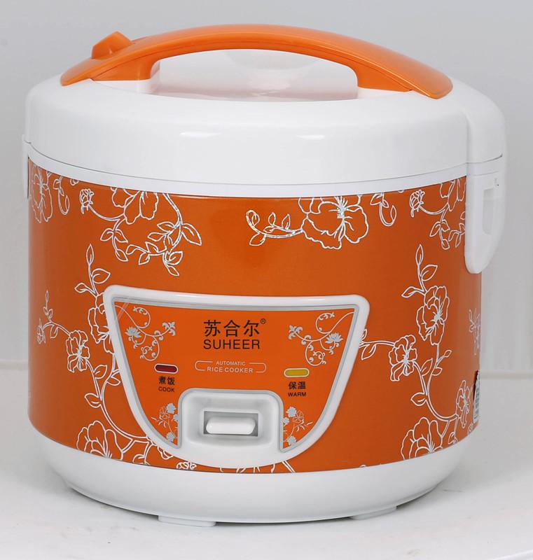 Orange 5L multi électrique national cuiseur à riz-Cuiseur de riz ...
