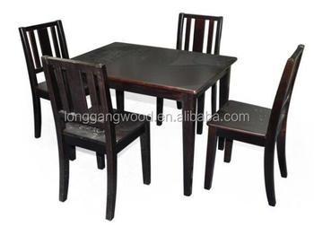 Moderne ontwerp goedkope houten kids nursery tafel en stoelen voor