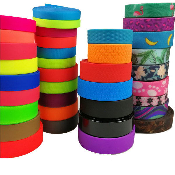 Soft Plastic Vinyl PVC Coated Webbing Strapping for Backpack Belt Dog Products