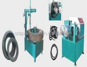 Waste car tire recycling factory