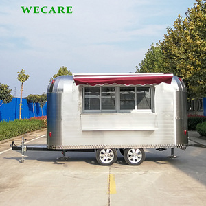 Factory price beat quality catering trailer food truck for ice cream popcorn