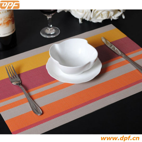 Customized Anti-slip PVC Foaming Placemat