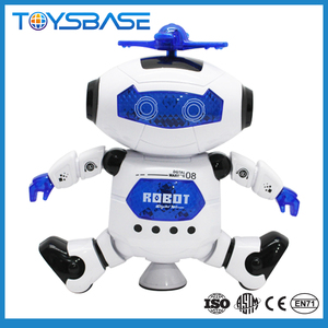 Juguetes Para Los Ninos Hot Selling Battery Operate Dancing Robot With Light And Music Humanoid Robot