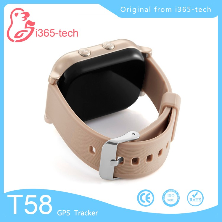 Fashion very small size mobile phone T58 GPS bracelet SIM card