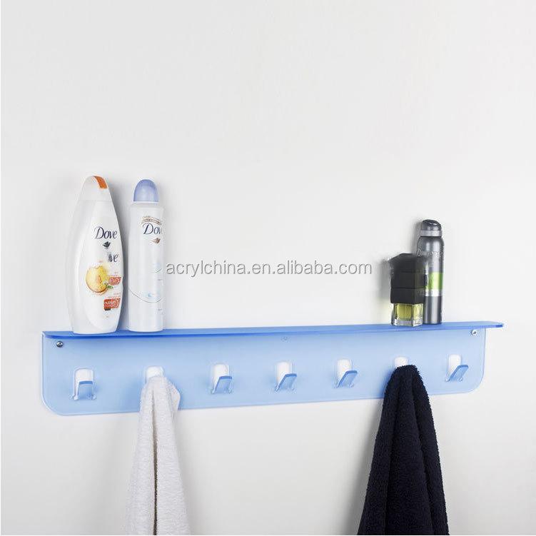 Wall Mounted Acrylic Bathroom Shelf, Wall Mounted Acrylic Bathroom ...