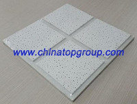 mineral fiber acoustic ceiling ,mineral wool ceilng, mineral wool board