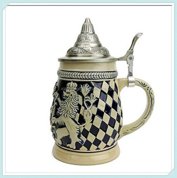 Classic Ceramic Collectible Beer Stein With Metal Lid Buy Classic Beer Stein Beer Stein With
