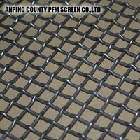 Stability Consistency Screen Woven Stainless Steel Crimped Wire Mesh 3mm 316l