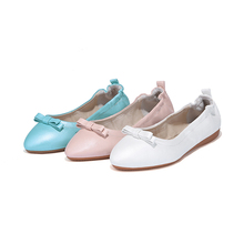 Sexy wedding foldable pu leather white flat shoes women 2019