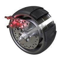 NANROBOT electric scooter parts Brushless motor wheel, Select the tire of the corresponding model