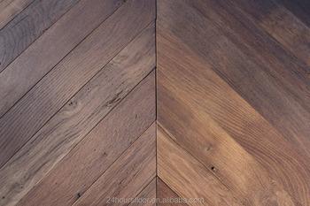 High Performance Output Burma Teak Herringbone Parquet Solid Wood Flooring