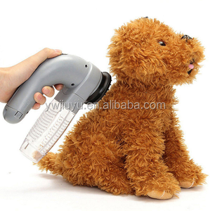 New Electric Pet Dog Cat Hair Remover Puppy Vacuum Clean Fur Shedding Grooming Tool Dog Trimmer Brush Comb Pet