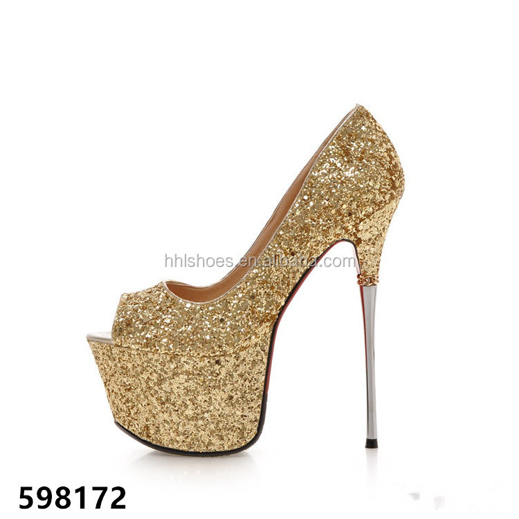 SEXY PARTY PLATFORM HIGH HEEL WOMEN SHOES