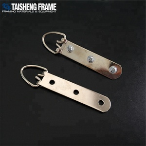 TSK004 picture frame hanger 15x93mm Three holes hook with screw Heavy duty D-ring Hanging hook