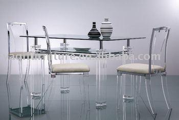 Folded Glass Occaisonal Table