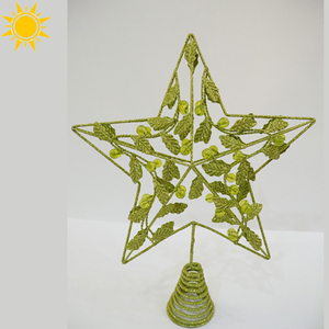 Christmas Decoration star shape acrylic christmas decoration tree ornament