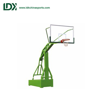 Outdoor Portable Base Basketball Hoop Set For Training