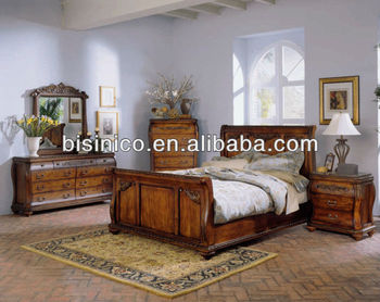 American Wooden Bedroom Furniture Sets,American Country Style Soild Wood  Bedroom Sets,American Furniture Bedroom Set (b14107) - Buy Antique Wood ...